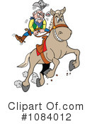Royalty-Free (RF) Rodeo Clipart Illustration #1084012