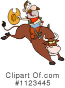 Rodeo Clipart #1123445 by Hit Toon