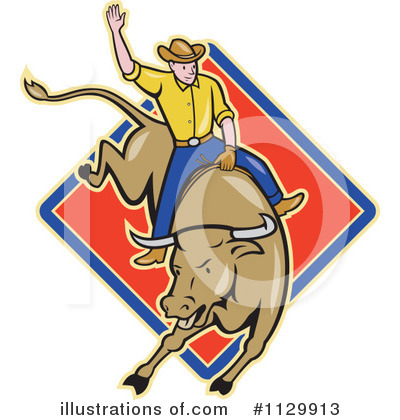 Rodeo Clipart #1129913 by patrimonio