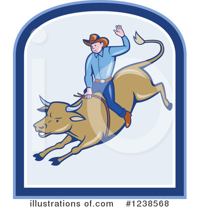 Rodeo Clipart #1238568 by patrimonio