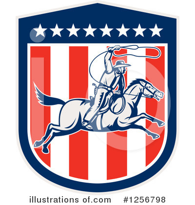 Rodeo Clipart #1256798 by patrimonio