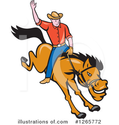 Rodeo Clipart #1265772 by patrimonio