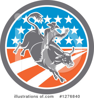 Rodeo Clipart #1276840 by patrimonio