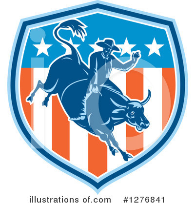Rodeo Clipart #1276841 by patrimonio