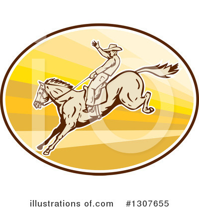 Rodeo Clipart #1307655 by patrimonio