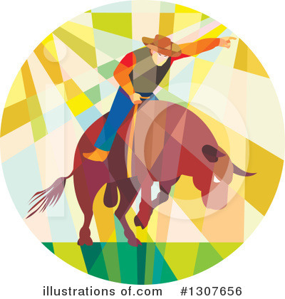 Rodeo Clipart #1307656 by patrimonio