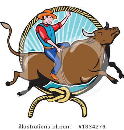 Rodeo Clipart #1334276 by patrimonio