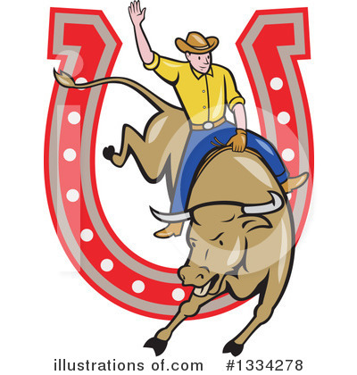 Rodeo Clipart #1334278 by patrimonio