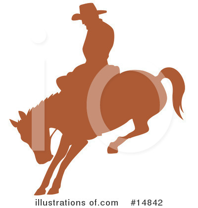 Rodeo Clipart #14842 by Andy Nortnik