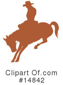 Royalty-Free (RF) Rodeo Clipart Illustration #14842