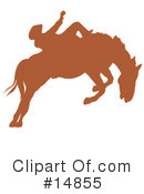 Royalty-Free (RF) Rodeo Clipart Illustration #14855
