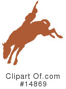 Royalty-Free (RF) Rodeo Clipart Illustration #14869