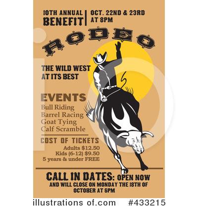 Rodeo Clipart #433215 - Illustration by patrimonio