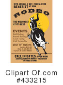 Royalty-Free (RF) Rodeo Clipart Illustration #433215