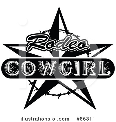 Cowgirl Clipart #86311 by Andy Nortnik