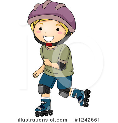 Skating Clipart #1242661 by BNP Design Studio