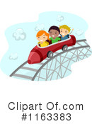 Royalty-Free (RF) Roller Coaster Clipart Illustration #1163383