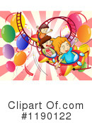 Royalty-Free (RF) Roller Coaster Clipart Illustration #1190122