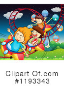Roller Coaster Clipart #1193343 by Graphics RF