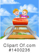 Royalty-Free (RF) Roller Coaster Clipart Illustration #1400236