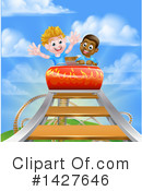 Royalty-Free (RF) Roller Coaster Clipart Illustration #1427646