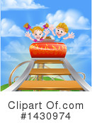 Royalty-Free (RF) Roller Coaster Clipart Illustration #1430974