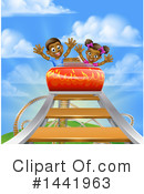 Royalty-Free (RF) Roller Coaster Clipart Illustration #1441963