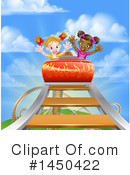 Royalty-Free (RF) Roller Coaster Clipart Illustration #1450422
