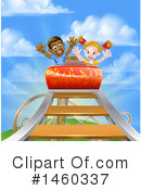 Royalty-Free (RF) Roller Coaster Clipart Illustration #1460337