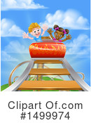 Royalty-Free (RF) Roller Coaster Clipart Illustration #1499974