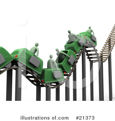Roller Coaster Clipart #21373 by 3poD