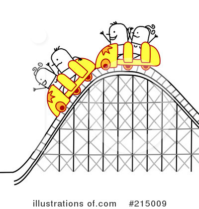Roller Coaster Clipart #215009 by NL shop