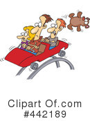 Roller Coaster Clipart #442189 by toonaday