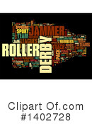 Roller Derby Clipart #1402728 by MacX