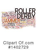 Roller Derby Clipart #1402729 by MacX