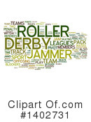 Roller Derby Clipart #1402731 by MacX
