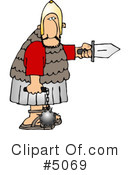 Royalty-Free (RF) Roman Army Clipart Illustration #5069
