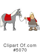 Royalty-Free (RF) Roman Army Clipart Illustration #5070