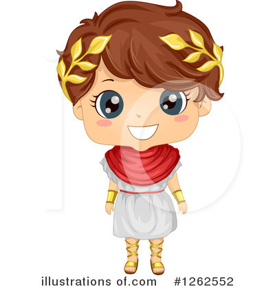 Roman Clipart #1262552 by BNP Design Studio