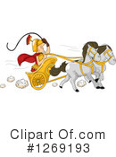 Royalty-Free (RF) Roman Clipart Illustration #1269193