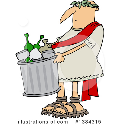 Garbage Clipart #1384315 by djart