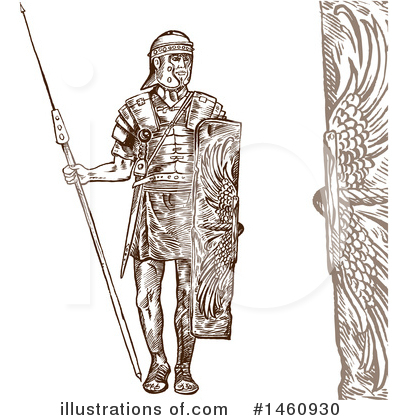 Roman Clipart #1460930 by Domenico Condello
