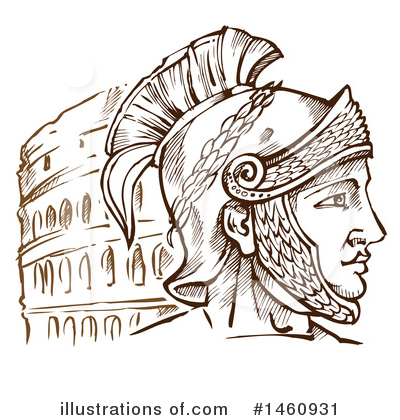 Roman Clipart #1460931 by Domenico Condello