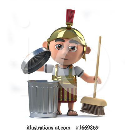 Royalty-Free (RF) Roman Clipart Illustration by Steve Young - Stock Sample #1669869