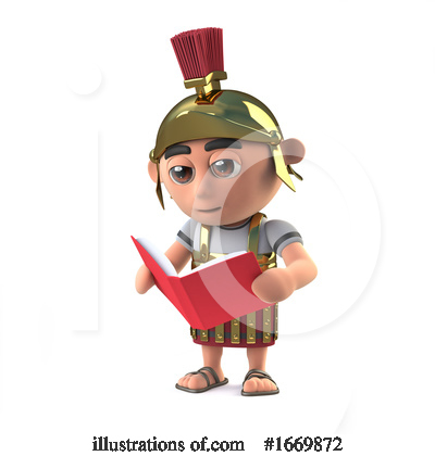 Royalty-Free (RF) Roman Clipart Illustration by Steve Young - Stock Sample #1669872