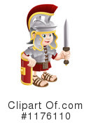 Roman Soldier Clipart #1176110 by AtStockIllustration