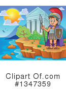 Royalty-Free (RF) Roman Soldier Clipart Illustration #1347359