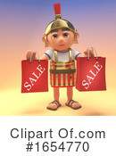Roman Soldier Clipart #1654770 by Steve Young