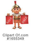 Roman Soldier Clipart #1655349 by Steve Young