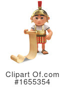 Roman Soldier Clipart #1655354 by Steve Young